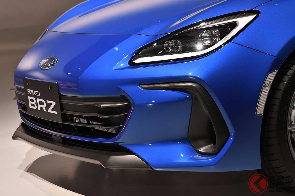 スバル新型「BRZ」はニッコリ顔!? 6割超「カッコイイ」と回答! 最新スポーツカーで何を重視?