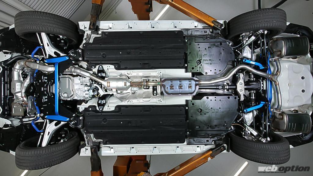 「VN5型レヴォーグ用のアンダーブレースが登場!」シャープなハンドリングを実現しつつ経年劣化も抑制