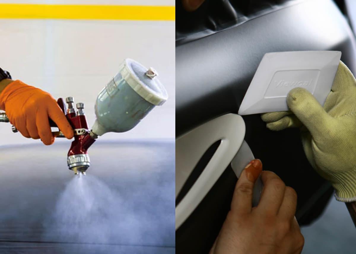 「全塗装」か「ラッピング」か? 愛車の外装を復活させる「最適解」とは