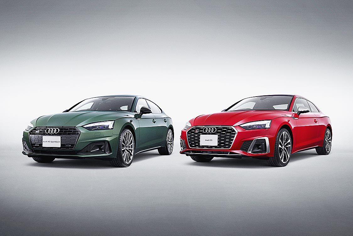 アウディジャパン、「A5/S5」スポーツバックとクーペを大幅改良 ディーゼル車を初設定