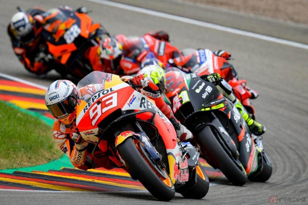2021 MotoGP第8戦ドイツGP ホンダのM・マルケスが今季初勝利  8大会連続で優勝を達成