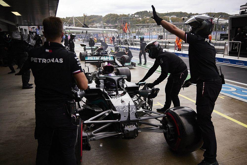 ロシアGP予選で失態ルイス・ハミルトン「プレッシャーがかかる状況ではなかった。単なるミス」