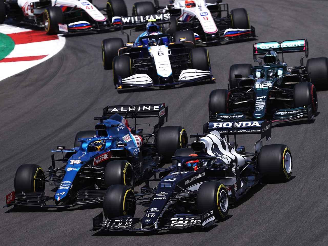 2021年F1第3戦ポルトガルGP、角田裕毅は試練の14位。グリップがなくペースが上がらず【モータースポーツ】