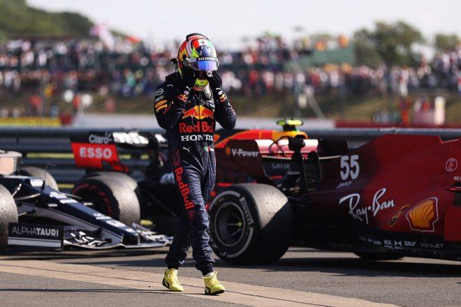 ピットレーンスタートのペレス、7位を諦め、チームに貢献:レッドブル・ホンダ/F1第10戦決勝