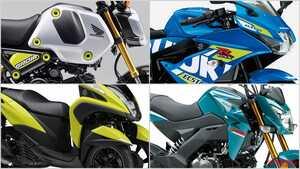 2021新車バイクラインナップ〈原付二種51~125cc|日本車最新潮流解説〉