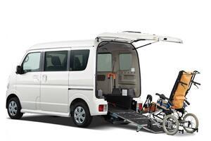 日産NV100クリッパーリオの福祉車両「チェアキャブ」が一部仕様向上を実施。先進安全機能を標準装備