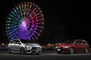 【比較試乗】「BMW 2シリーズグランツアラー vs メルセデス・ベンツ Bクラス」奥さまが使いやすくて、家族に愛されるマルチパーパスコンパクトは?