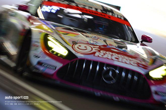 """「久々にレースに参加している」初音ミクAMG、ロングランへの自信と""""悩ましい""""戦略【第4戦GT300予選】"""
