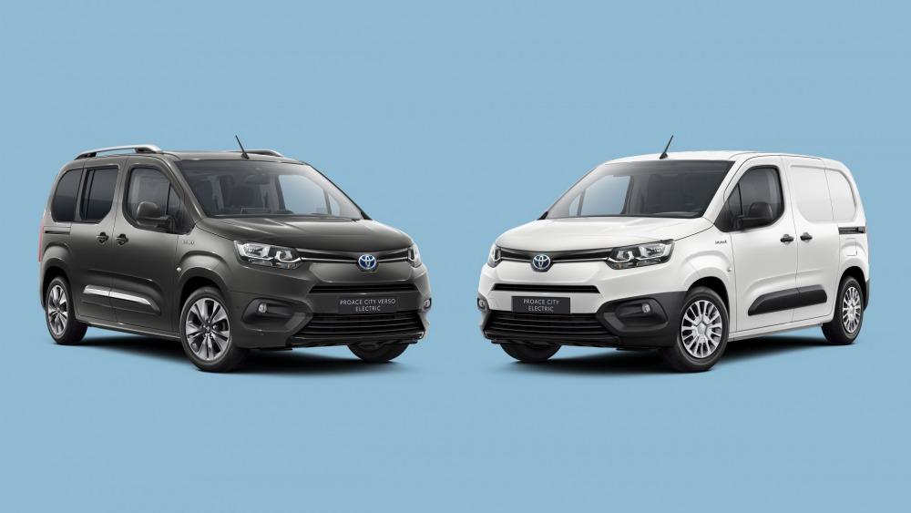 【ベルランゴの兄弟車】トヨタ・プロエース・シティ 電動モデルを欧州導入 2021年発売