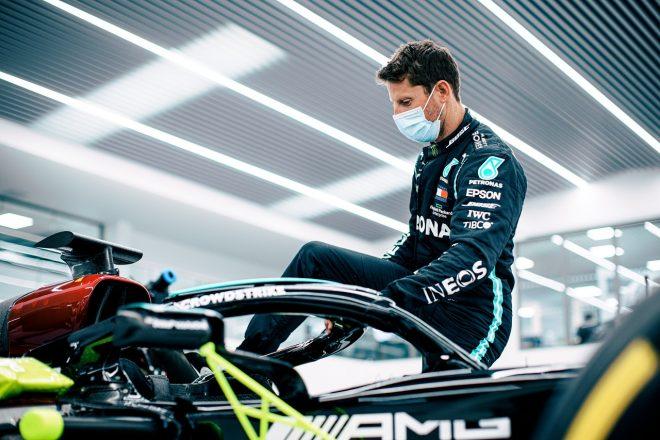 カレンダー変更がグロージャンのメルセデスF1デモランに影響。フランスGP決勝での走行は中止、テストデーのみに