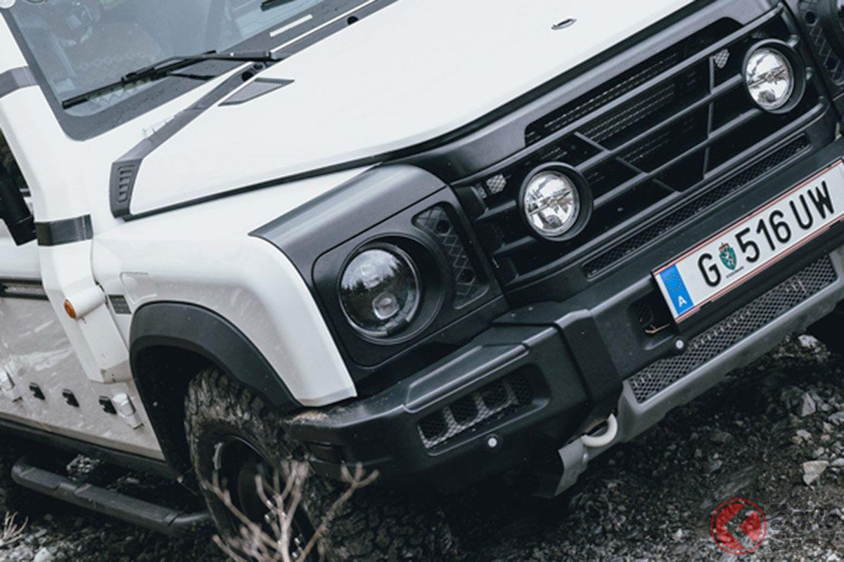 ゴツカッコイイ! 新型最強SUV「グレナディア」 ディフェンダー風の本格オフロード車とは