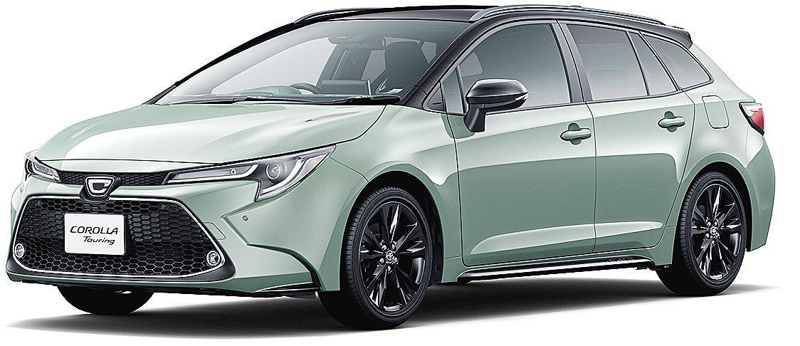 トヨタ、2000cc搭載の「カローラツーリング」特別仕様車を限定500台で発売