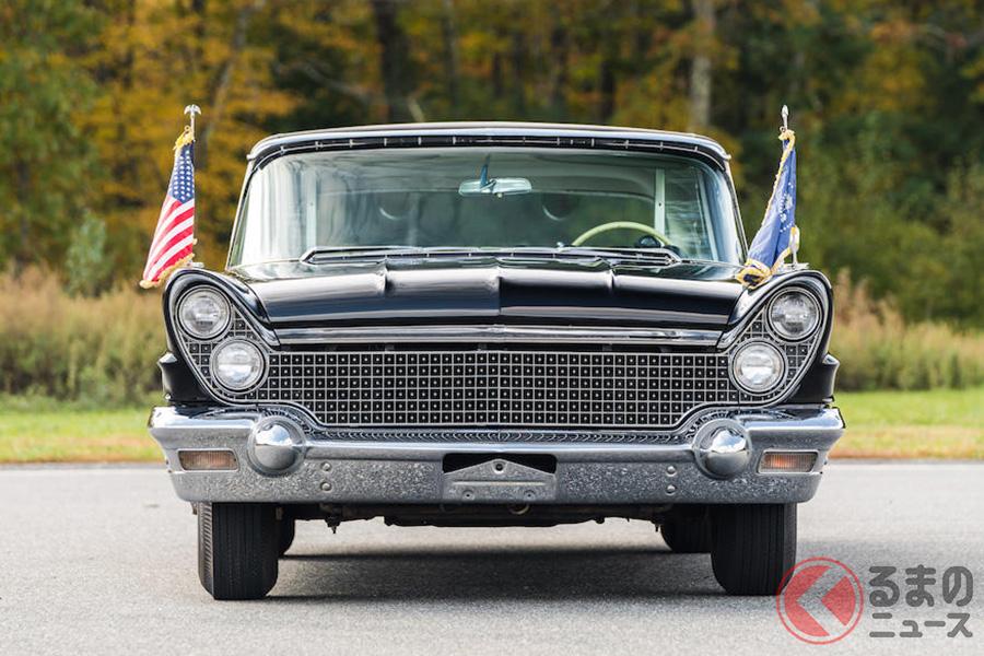 ケネディ大統領が暗殺日当時に乗った「リンカーン」は約4000万円で落札!