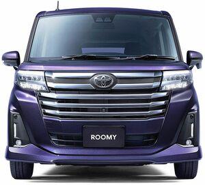 トヨタ、「ルーミー」を一部改良 全店舗併売で兄弟車「タンク」統合