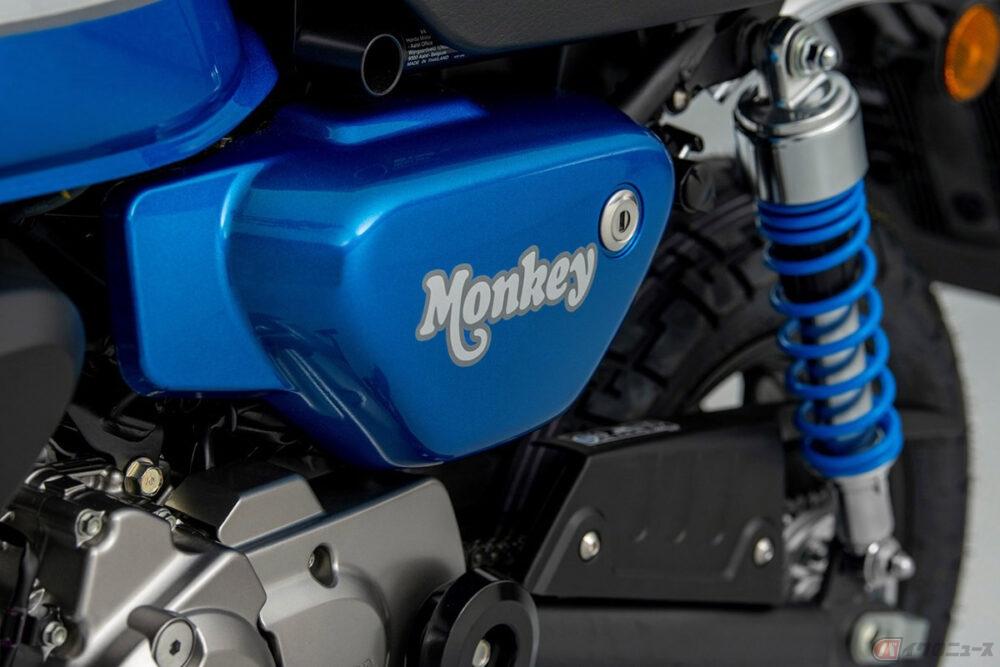 ホンダ新型「モンキー125」米国に導入 快適なクルージングと優れた加速を実現する5速ミッション採用