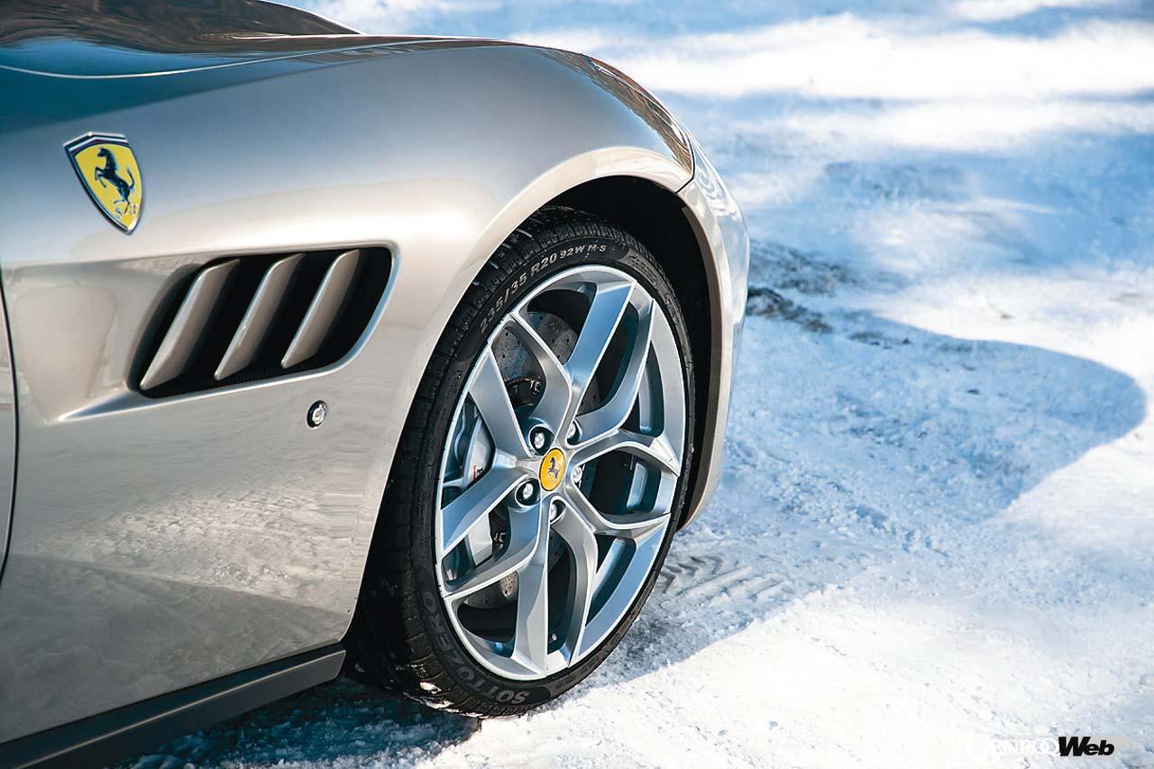 荒 聖治が挑むスーパースポーツのウインタードライブ! :フェラーリ GTC4 ルッソT編【Playback GENROQ 2020】