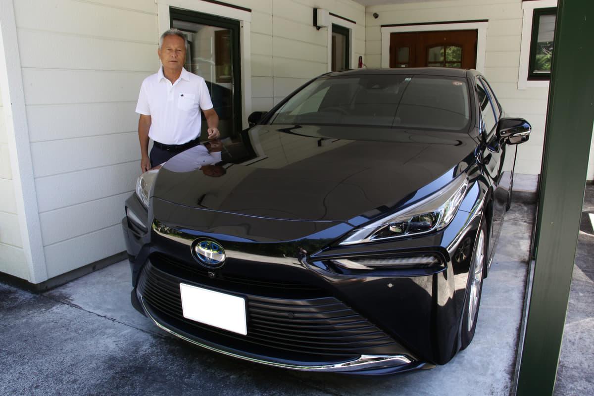 「燃料電池車だから、ではなく『いいクルマ』だから乗ってる」ル・マンウィナー関谷正徳が語る「MIRAI」の魅力