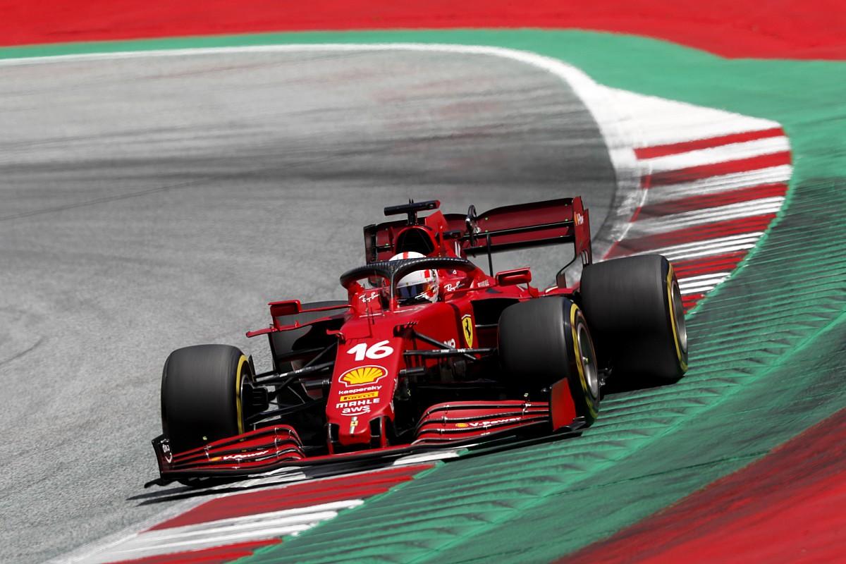 フェラーリ、オーストリアではDRS区間で苦戦? ルクレール「マクラーレンとはかなりの差だ……」