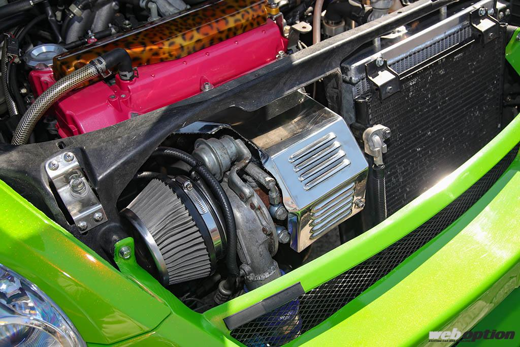 「コペンで210馬力は強烈すぎる!」大排気量ターボ勢と渡り合うチューンドコンパクト