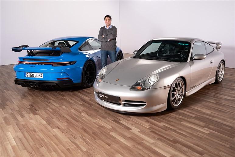 新型911 GT3を一足先に取材。スワンネック形状のウイングを採用した理由とは?