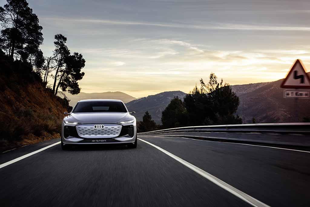 アウディが電動化をフル加速! 「A6 e-tronコンセプト」を上海ショーで発表