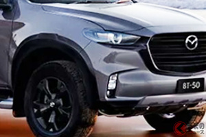 黒パーツ装備で凄み強烈な4WD! マツダ新型「BT-50 SP」発表! 1.9Lディーゼル仕様も登場へ 2022年1月に豪で発売