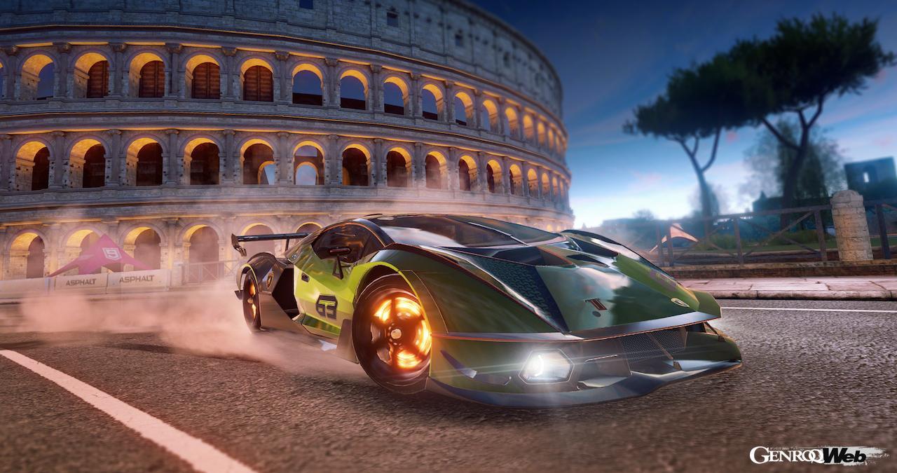 最新ハイパースポーツ「ランボルギーニ エッセンサ SCV12」をドライブできる!? 人気レースゲームに導入決定【動画】