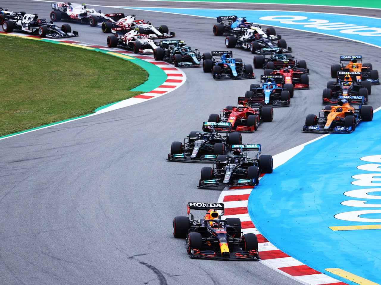 2021年F1第4戦スペインGP、2位に終わったフェルスタッペンにとっての「難しい判断」【モータースポーツ】