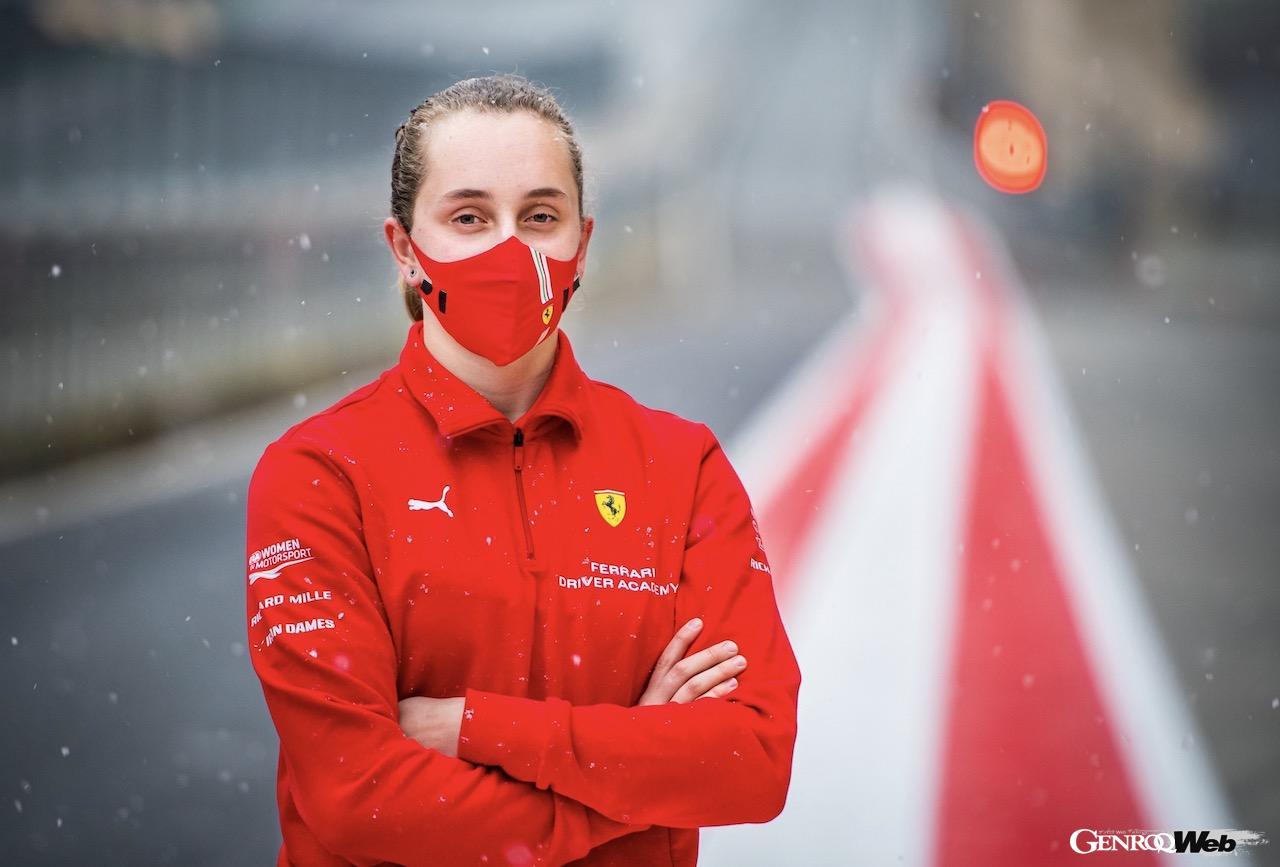 フェラーリが育成する初の女性ドライバー、マヤ・ウィーグがイタリアF4とGTシリーズに参戦