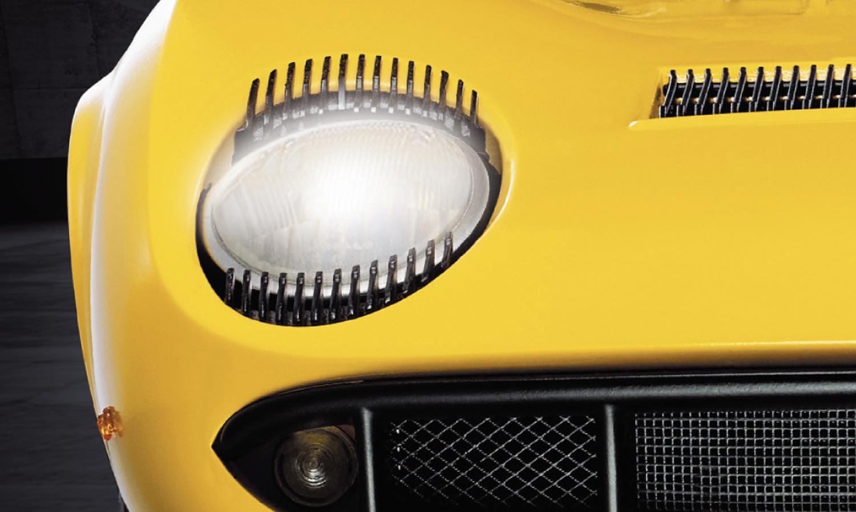 エンジン音を再生して灯火類も点灯する1/8ミウラ! 「ランボルギーニ ミウラをつくる」発売