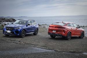 """【比較試乗】「BMW・X5M vs X6M」アナタならどちらの""""M""""を選ぶ?"""