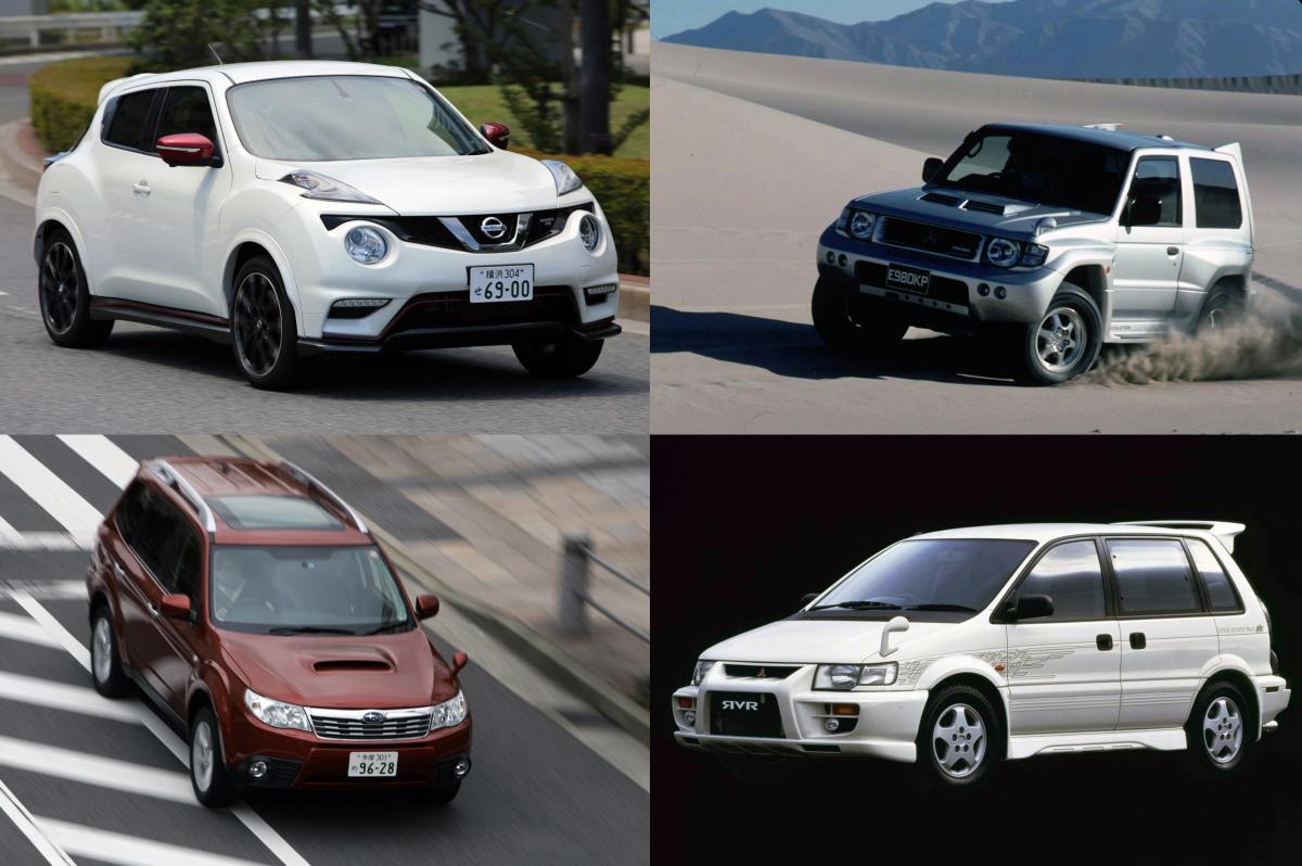 いまの国産SUVは「ぬるすぎる」! オンオフ問わず「バカッ速」の絶版SUV5選+α