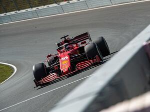 2021年F1第13戦、3度の赤旗中断で時間短縮の中、初日はフェラーリが1-2。フェルスタッペンは5番手【オランダGP】