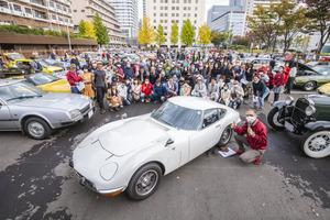 「2000GT」「カウンタック」「アメパト」が銀座を走る! 83台のクラシックカーが集まった【THE銀座RUN エシカルミーティング】の中身