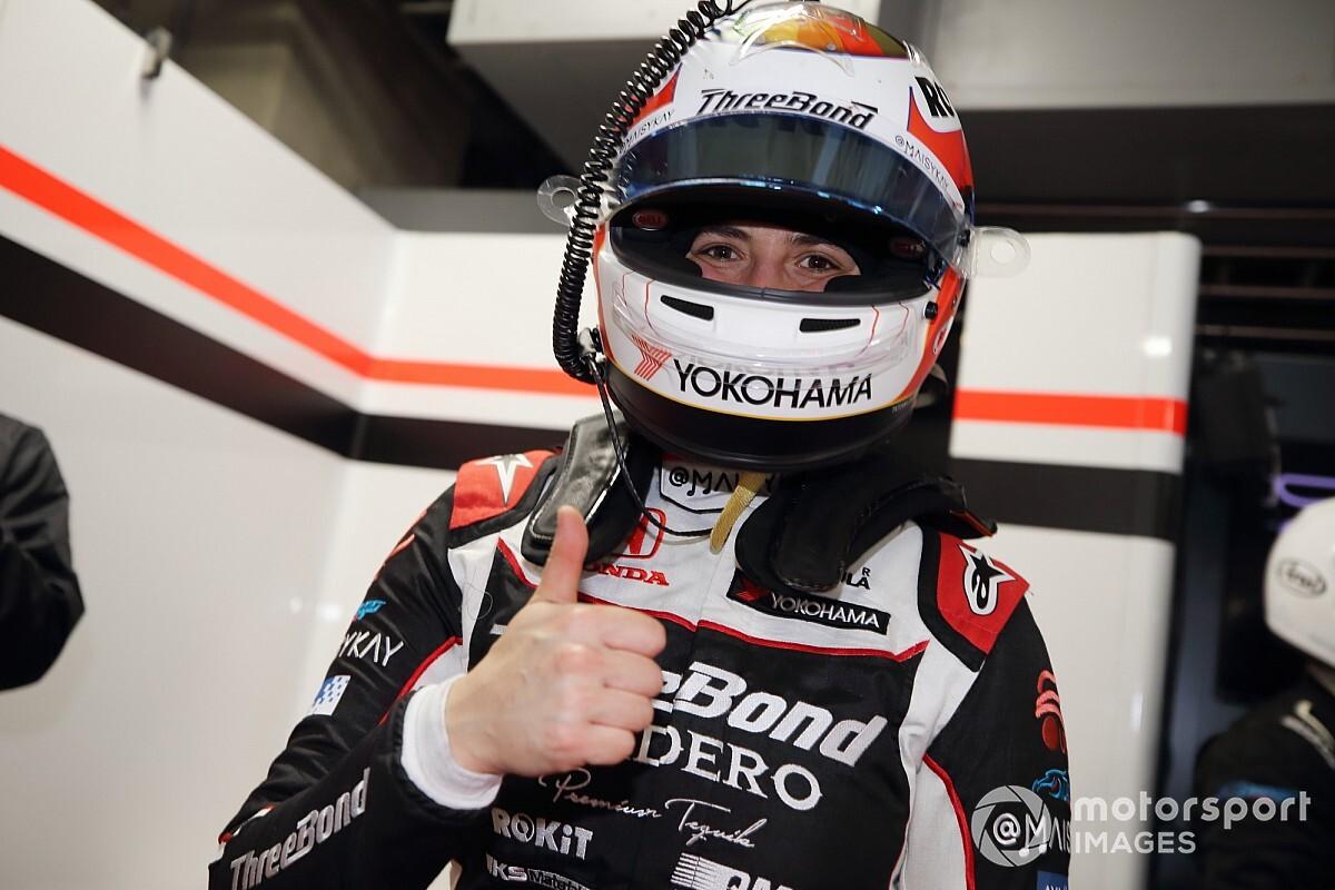 【スーパーフォーミュラ】タチアナ・カルデロン、初の予選Q1突破に満足げ。11番グリッド獲得で初入賞にも現実味