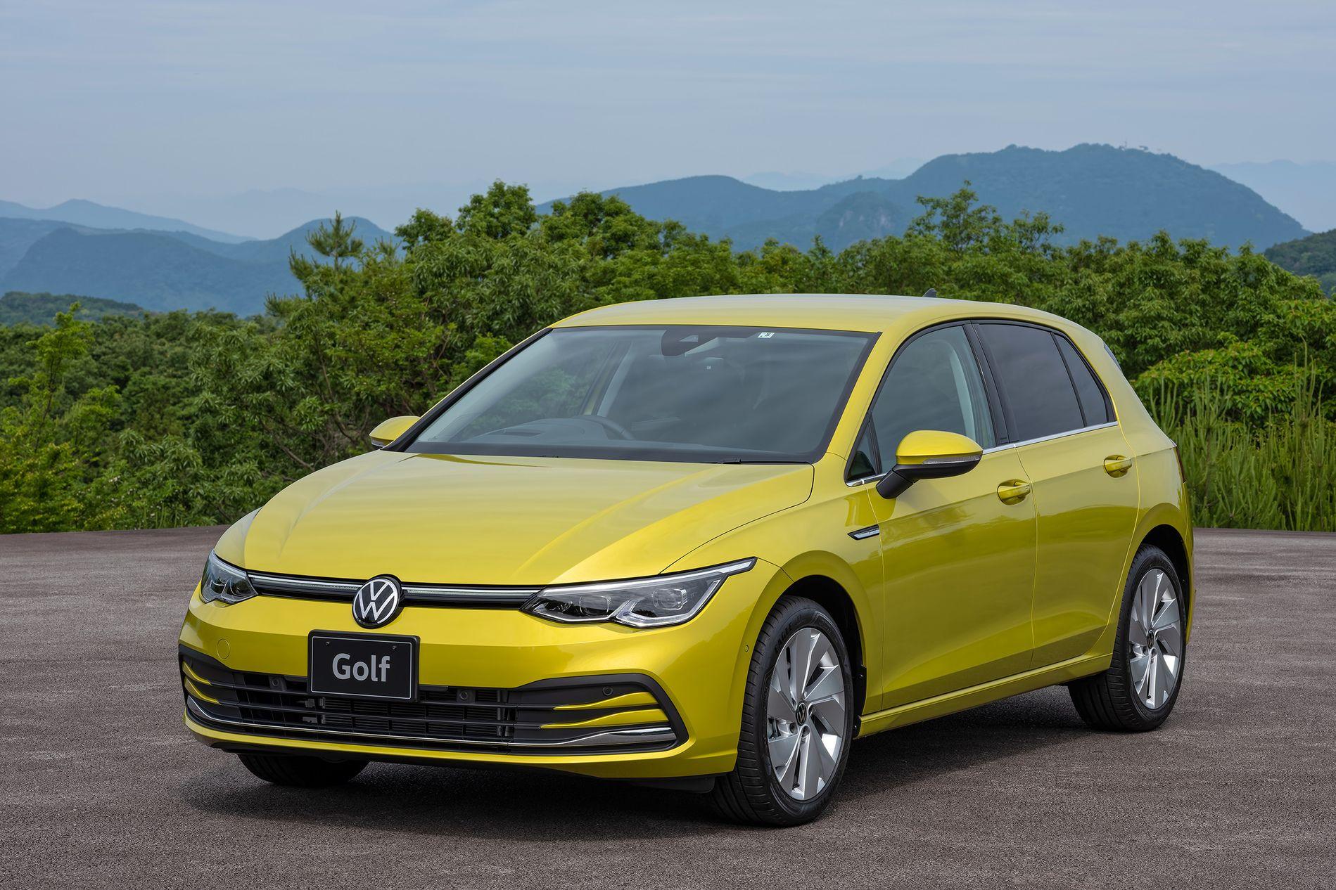 写真で見るニューモデル VW「ゴルフ」