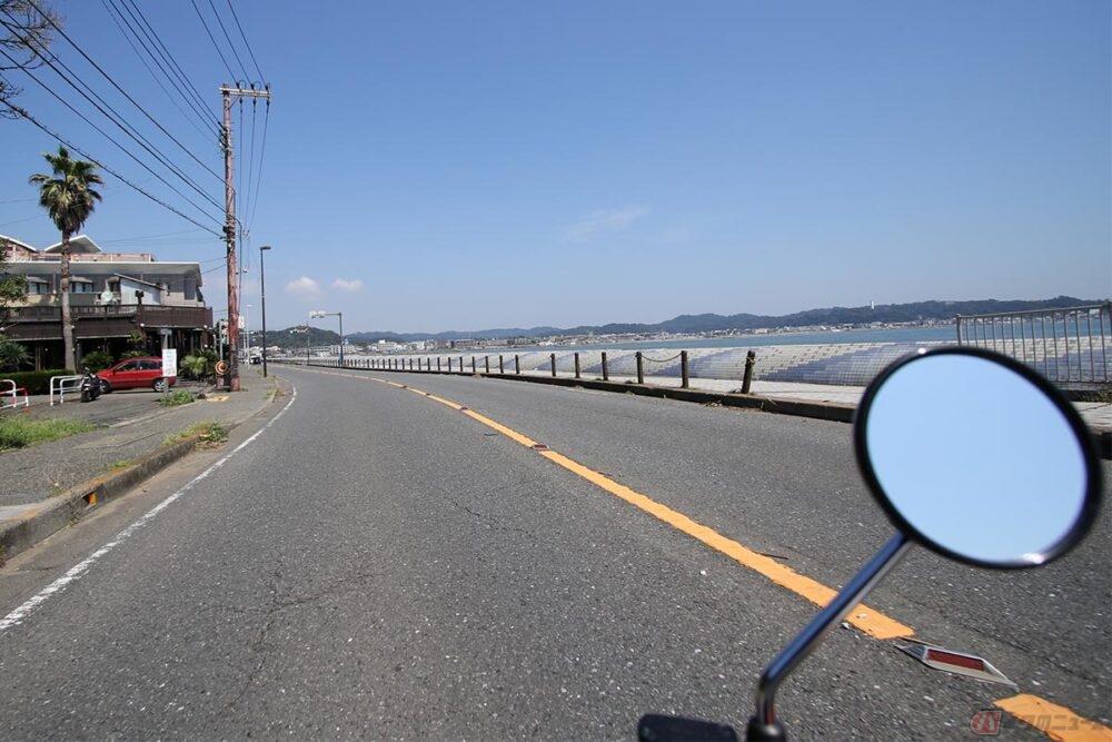 """海岸線の生活道路は""""のんびり""""であってほしい ~木下隆之の、またがっちゃいましたVol.97~"""