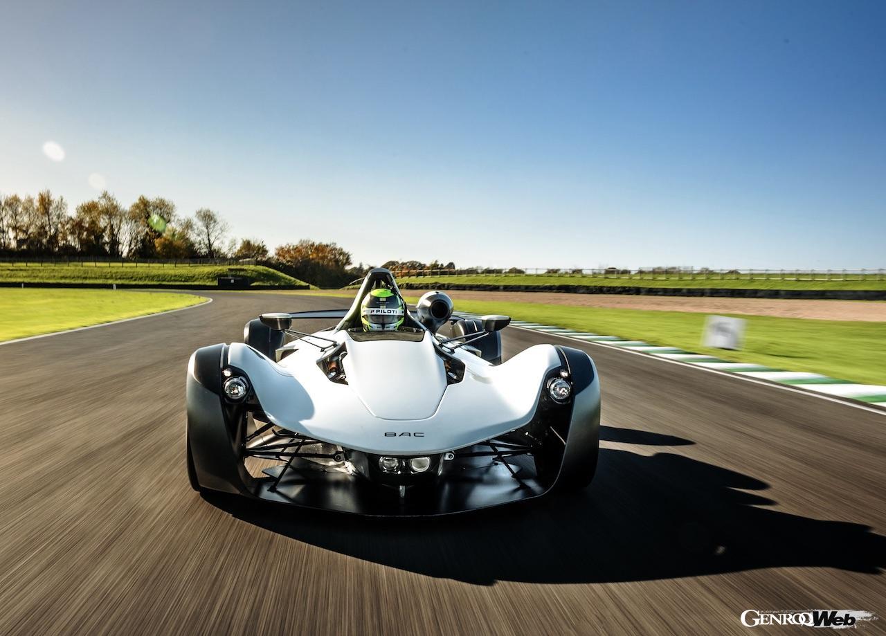 F1マシンに肉薄!? ライトウェイトスポーツ「BAC Mono R」がグッドウッドで非公式ラップタイムを記録 【動画】
