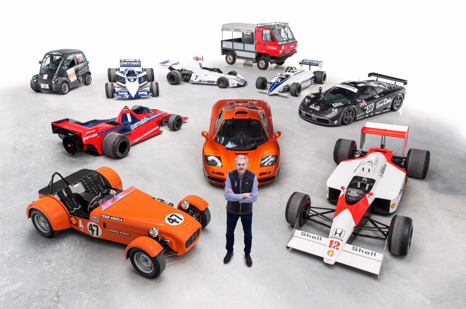 ゴードン・マレー、F1史上最も影響力のある技術革新者に輝く