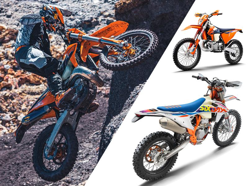 【KTM】さらなるパフォーマンスアップを果たした MY 2022 エンデューロモデル12機種を発表