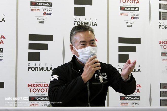 15年間SFを支えたTRD永井氏が勇退会見「日本のモータースポーツは今こそ正面から立ち向かう時」最後にサプライズも