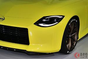 日産7代目新型「フェアレディZ」登場秒読み! V6ツインターボの試作車がシカゴショー2021へ出展