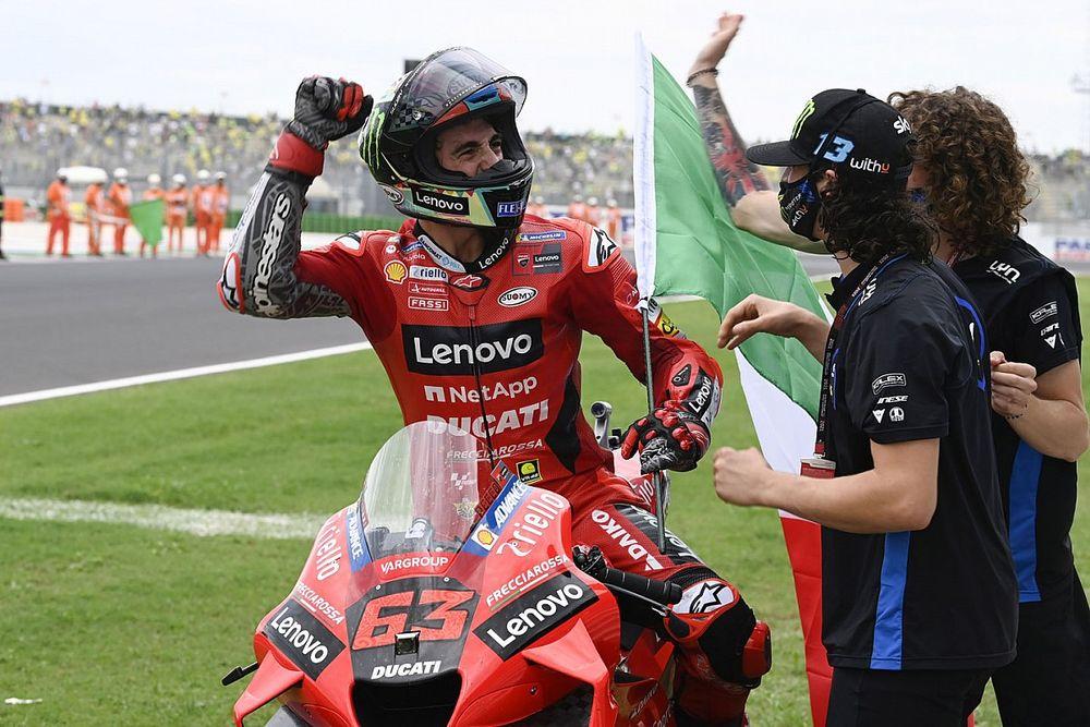 【MotoGP】バニャイヤ、ポールから完璧2連勝も「2020年のクラッシュの再現にならないか怖かった」