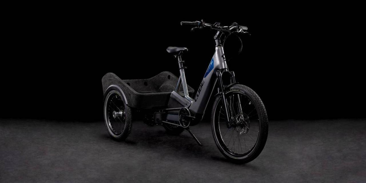 【動画】BMWが自転車メーカーのCUBEとコラボして作った、クリーンな3輪カーゴ!!