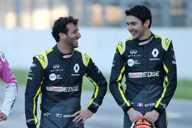 ルノーF1のオコン、新チームメイト リカルドとの関係は良好「ペレスとの雰囲気は悪かった」