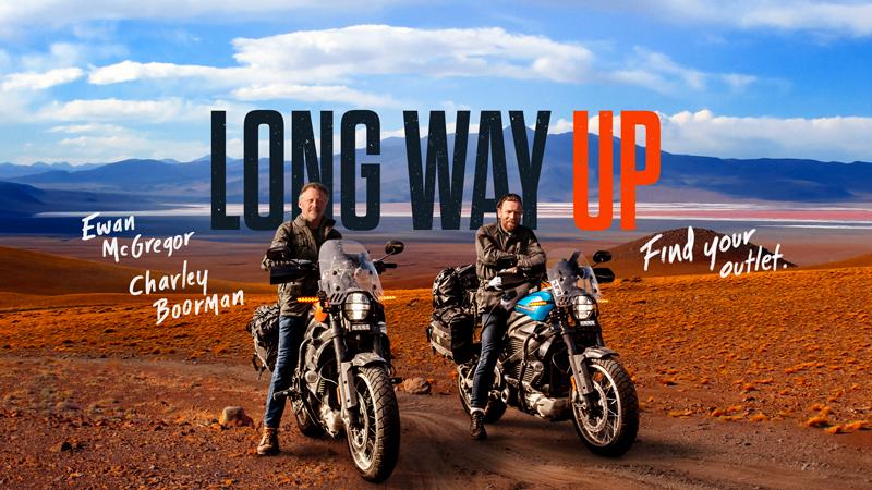 【ハーレー】ユアン・マクレガーとチャーリー・ブアマンが電動モーターサイクル「LiveWire(R)」で1万3,000マイルを走る!