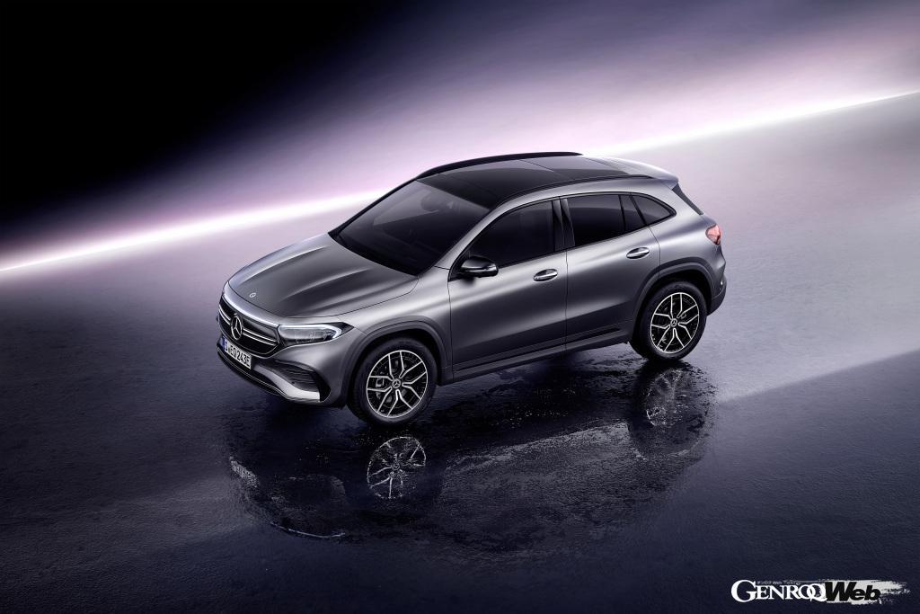 メルセデス・ベンツがEVのエントリーモデル「EQA」を世界初公開! 2021年2月に欧州で販売をスタート