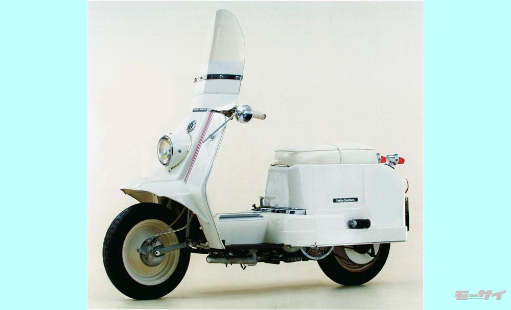 イメージ崩壊? ヘンなハーレー大図鑑「ゴルフカートにスクーター、2ストスポーツもあった!」1950~1960年代編