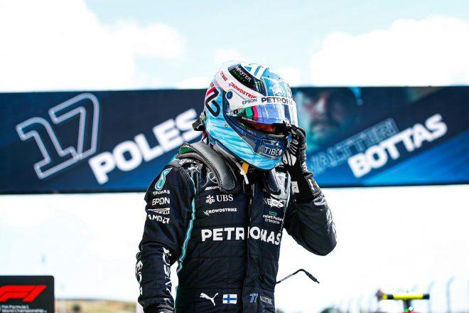 メルセデス代表も称賛。苦しんだボッタスが巻き返しのポール「予選の弱点を徹底的に修正。努力は必ず報われる/F1第3戦