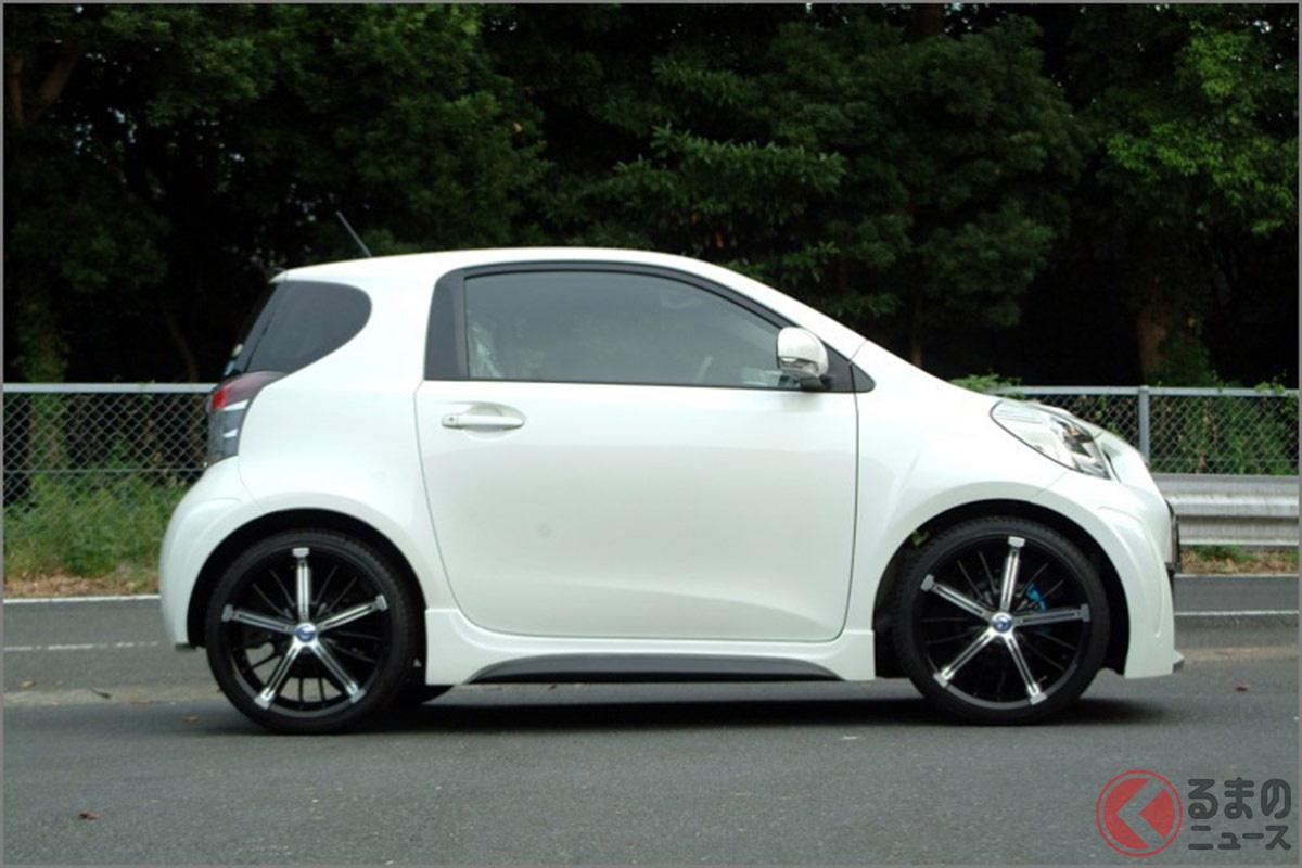 全長3m以下の「GT-R」爆誕! なぜトヨタ「iQ」をベースに? 小さな存在感が凄いカスタム仕様とは